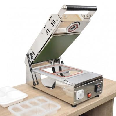 Masina termosudare caserole carton