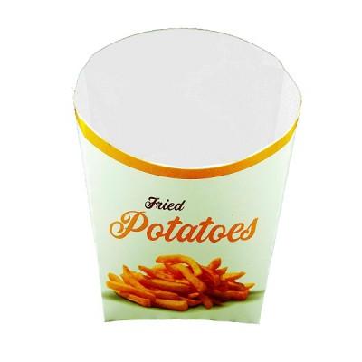 Cutie carton (L) pentru cartofi prajiti 0.24 lei/buc (1.700 buc/bax)