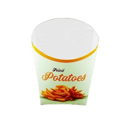 Cutie carton (M) pentru cartofi prajiti 0.21 lei/buc (2.000 buc/bax)