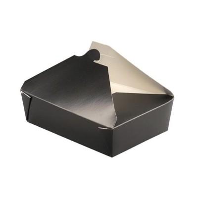 Cutii meniu din carton biodegradabil 1300ml - 1.10 lei/buc (200 buc/bax)