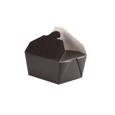 Cutii meniu din carton biodegradabil 600ml - 0.89 lei/buc (200 buc/bax)