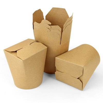 Cutii carton kraft - Paste & Noodles box 960 cc - 0.99 lei / buc (450 buc/bax)