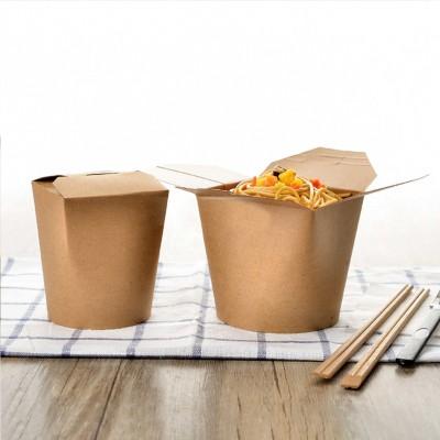 Cutii carton kraft - Paste & Noodles box 750 cc - 0.67 lei / buc (500 buc/bax)