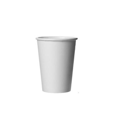 Pahare din carton 12OZ (355ml) Albe (100buc/set)