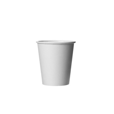 Pahare din carton 8OZ (236ml) Albe (100buc/set)