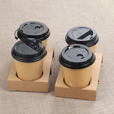 Suport din carton pentru 2 pahare (100buc/set)