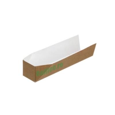 Baghete (tavite) din carton kraft natur 17.9x4.2x4 (500buc/set)