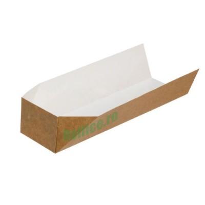 Baghete (tavite) din carton kraft natur 23x7x5 (500buc/set)