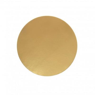 Discuri aurii carton 16 cm Italia (100 buc/set)