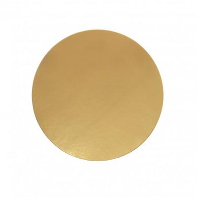 Discuri aurii carton 20 cm Italia (100 buc/set)