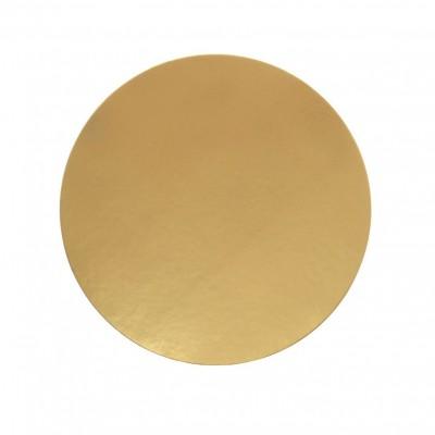 Discuri aurii carton 26 cm Italia (100 buc/set)