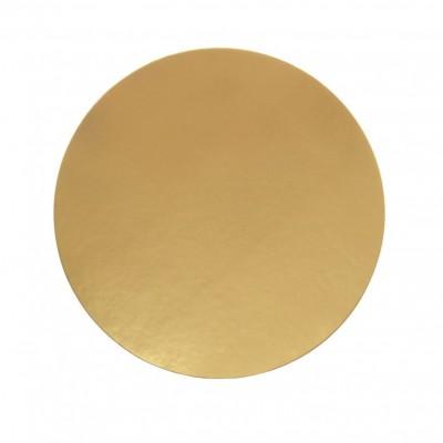 Discuri aurii carton 28 cm Italia (100 buc/set)