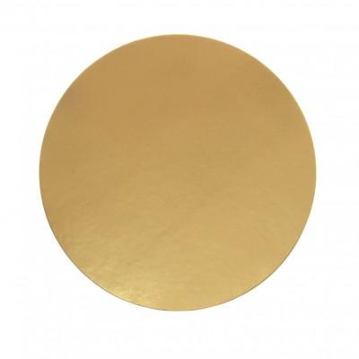 Discuri aurii carton 30 cm Italia (100 buc/set)