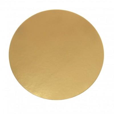 Discuri aurii carton 32 cm Italia (100 buc/set)