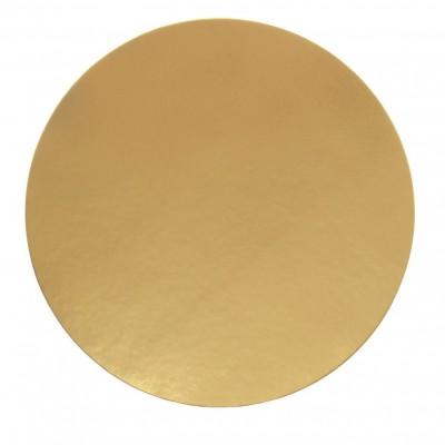 Discuri aurii carton 38 cm Italia (100 buc/set)