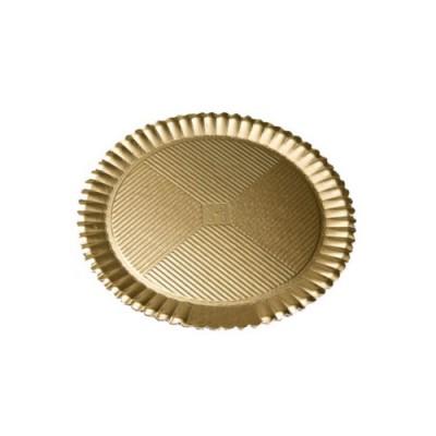 Discuri girasole aurii 26cm (50buc)