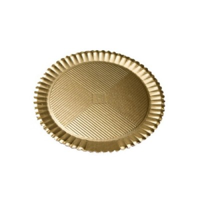 Discuri girasole aurii 28cm (50buc)