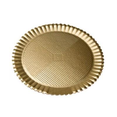 Discuri girasole aurii 36cm (50buc)