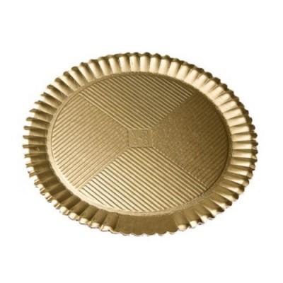 Discuri girasole aurii 38cm (50buc)