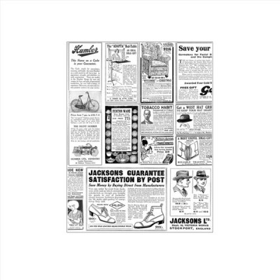 Hartie pentru ambalat rezistenta la grasimi, 34x28, model ziar (1000buc/set)
