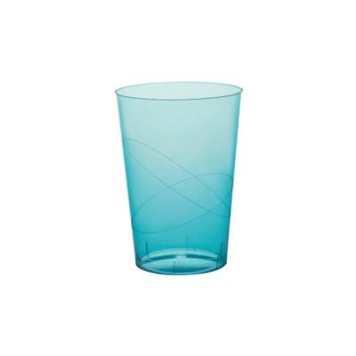 Pahare 230cc Transparente Turquoise PS - (1.000buc)