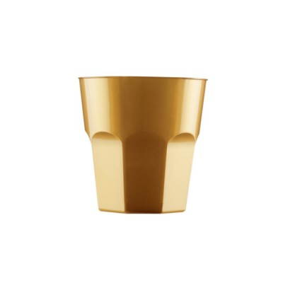 Pahare 220cc Cocktail Gold PS - (1.000buc)