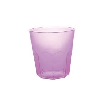Pahare 220cc Cocktail Transparent Lilac PS - (1.000buc)