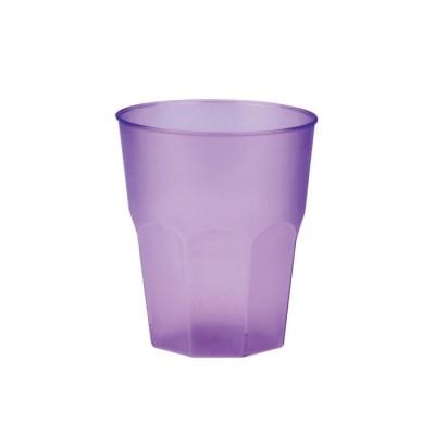 Pahare 310cc Cocktail Frost Transparente Lilac PP - (420buc)