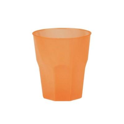 Pahare 310cc Cocktail Frost Transparente Orange PP - (420buc)