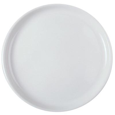 Farfurii pizza Ø350 mm albe PP - (144buc)