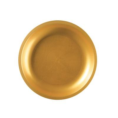 Farfurii rotunde Ø220mm Gold PP - (600buc)