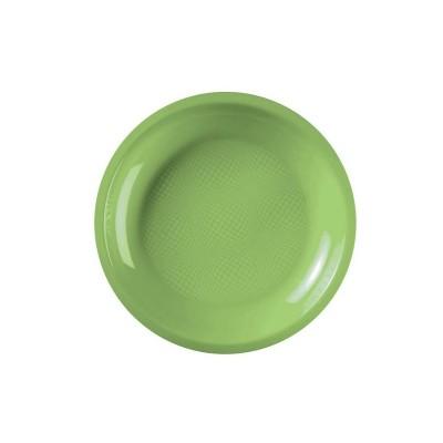 Farfurii Desert Ø180mm Light Green PP - (600buc)