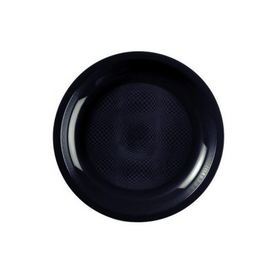 Farfurii Desert Ø180mm Black PP - (600buc)