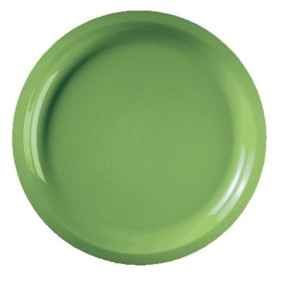 Farfurii Mari Ø290mm Light Green PP - (300buc)