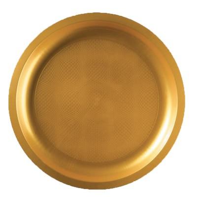 Farfurii Mari Ø290 mm Gold pp - (220BUC)