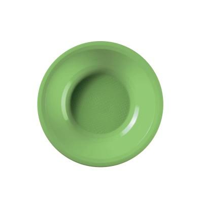 Farfurii Supa - Ø195mm Light Green PP - (600buc)