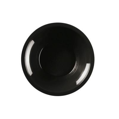Farfurii Supa Ø195mm Black PP - (600buc)