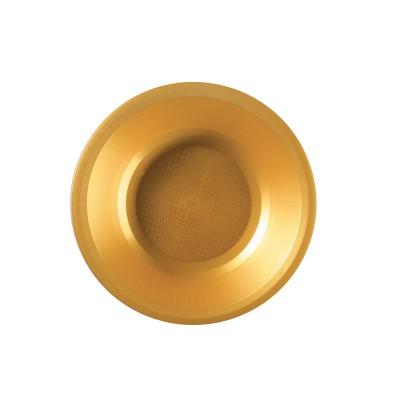 Farfurii Supa Ø195mm Gold PP - (600buc)
