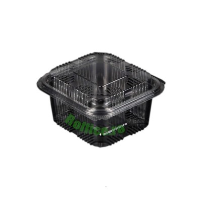 Caserole LIMERA din plastic cu capac inalt 500 cc (800buc/bax)