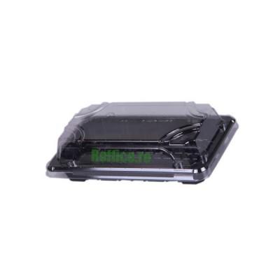 Caserole negre Sushi cu capac LIMERA - L-ST1 - 0.30 lei / buc (400 buc/bax)