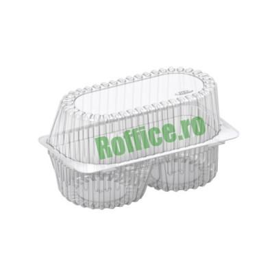 Caserole 2 savarine / prajituri 1350cc - 0.62 lei/buc (100 buc/set)