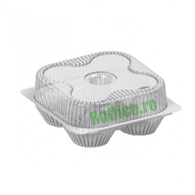 Caserole pentru briose & cupcakes 1900cc (25buc)