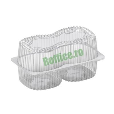 Caserole 2 savarine / prajituri 1700cc - 0.88 lei/buc (50 buc/set)