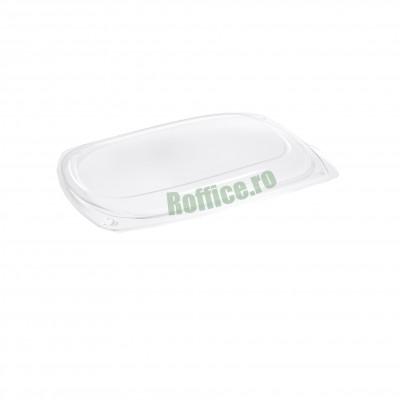 Capace pentru Platouri ovale negre 295 groase APET - 1100CC (10buc/set)