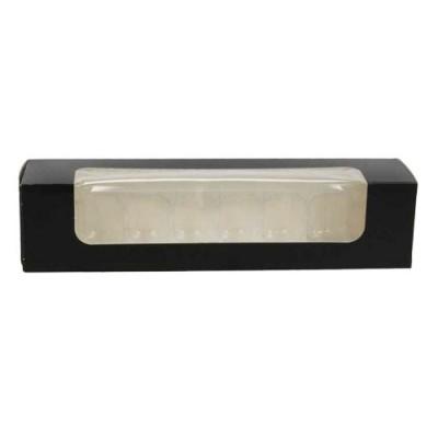Cutii negre cu fereastra macarons 23x5.5x5 (100 buc)