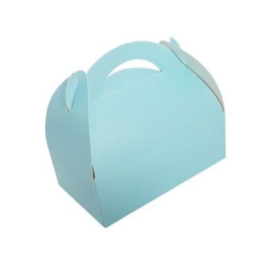 Cutii prajituri (marturii) albastre (100buc)
