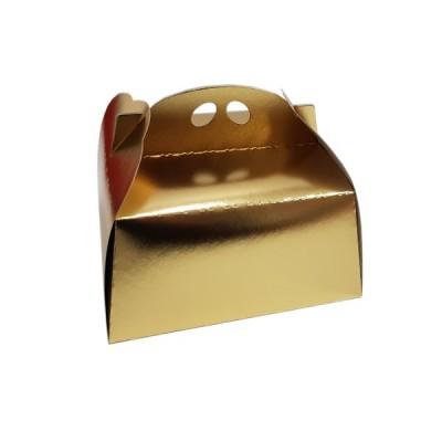 Cutii tort aurii 25x25 (25buc/set)
