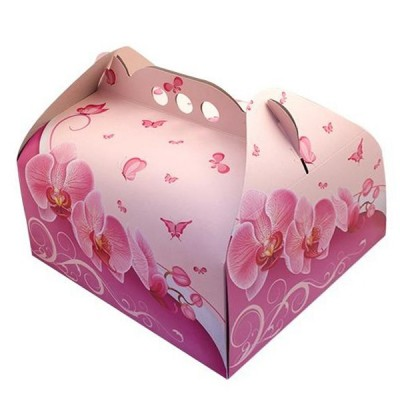 Cutii tort orhidee 30X30 (25buc/set)