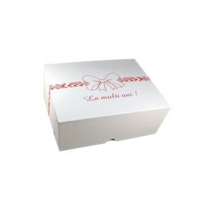 Cutii tort CT6 La multi ani 35x45x16 (25buc/set)