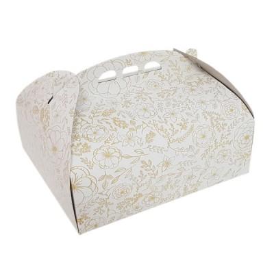 Cutii tort insertii aurii 30x40 (25buc/set)